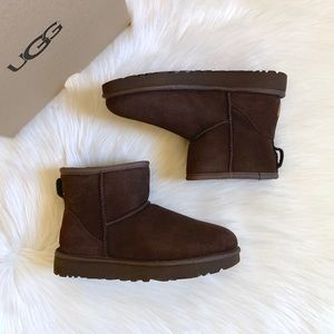UGG Chocolate Classic Mini II Boots